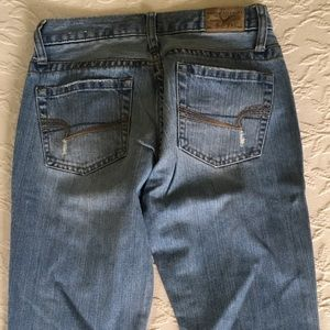 American Eagle Outfitters Jeans - AMERICAN EAGLE Hipster Skinny Flare Blur Jeans 0R